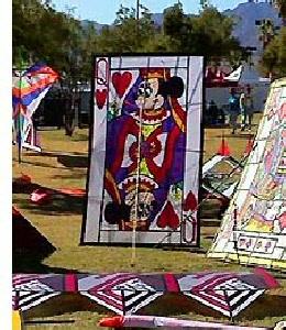 Minnie Card Kite