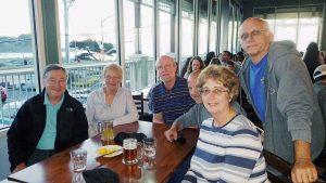 Dinner Friday Night - Jim Powers, Sue Storey, Peter Boyton, David Weese, Diane, Rick